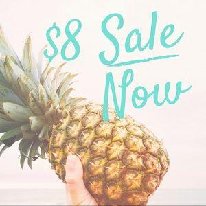 Plenty of GREAT $8 deals!